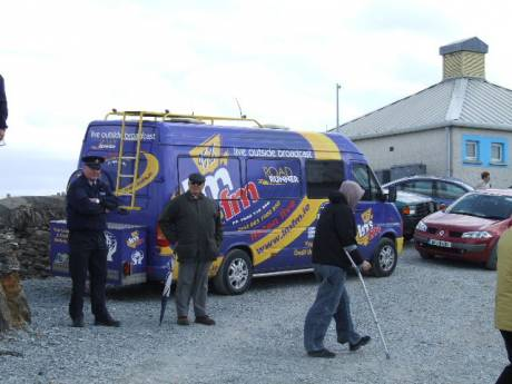 The police were watching and LMFM were there too.