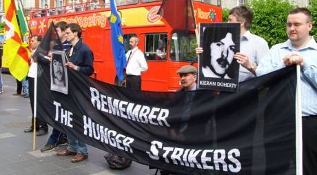 'Remember the Hunger-Strikers' .