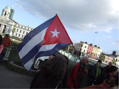 Cuba flag - 50 years since the revolution this July