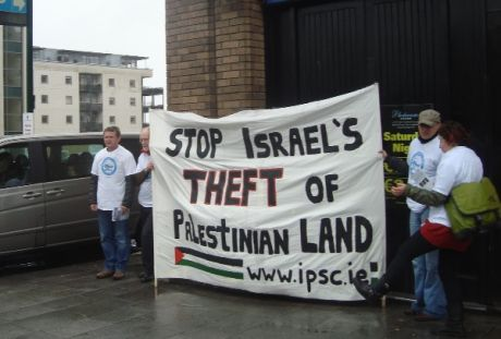 Stop Israel's Theft of Palestinian Land