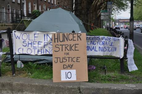 10th day of hunger strike.