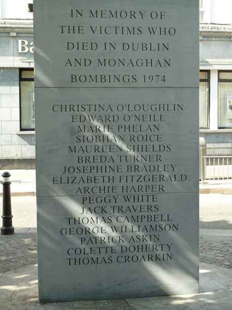 Talbot Street Monument Side 1