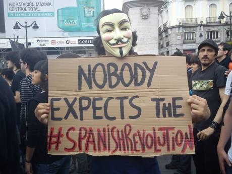 TRUE DEMOCRACY NOW! #SpanishRevolution in Ireland (Cork)