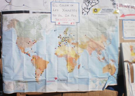 #Spanishrevolution now has 650 areas of Revolutionary action around planet