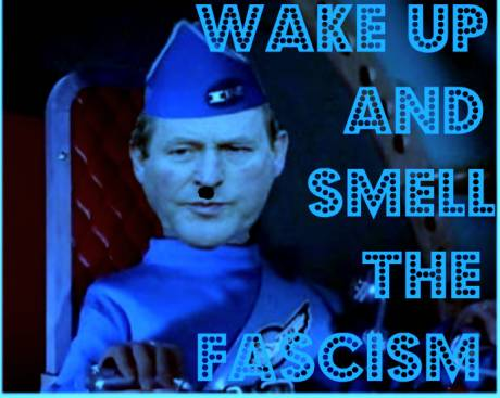 WAKE UP AND SMELL THE FASCISM !