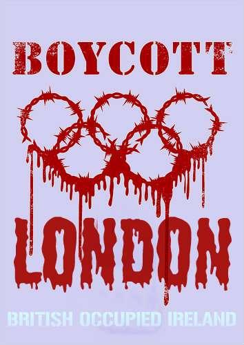 BLOODY LONDON OLYMPIC BOYCOTT