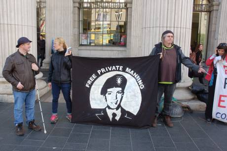 Vigil at the GPO