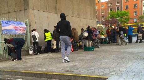 Soup kitchen in Temple Bar