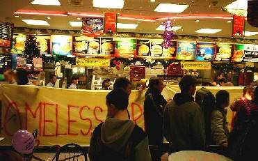 Want Fries With That Protest? - Supermacs Gets Occupied