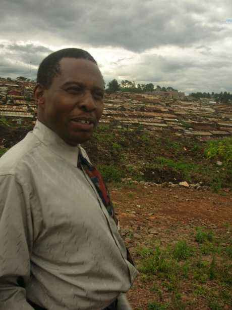 Pastor Nick Macharia working for over 20 years in the slums of Kibera