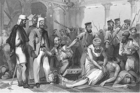 The sack of Lucknow