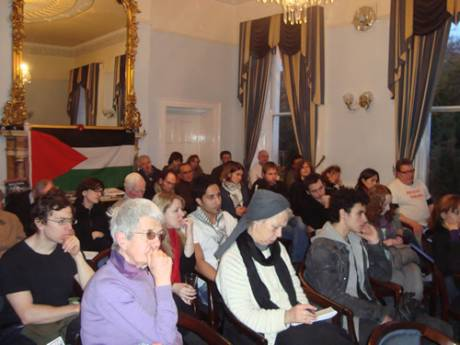 Audience at the public meeting