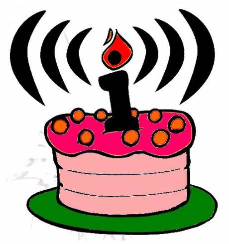 November 30th: Happy Birthday Indymedia!! (A lovley big pink b-day cake from London Town)