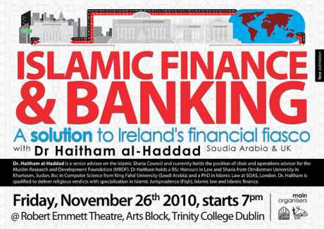 Islamic finance &amp; banking: A solution to Irelands financial fiasco!
