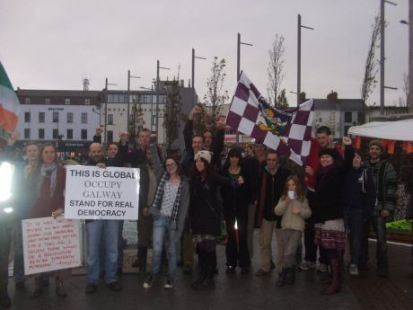 The tribes people of #occupygalway