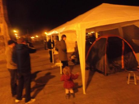 Occupy Waterford: young and old, brave and bold
