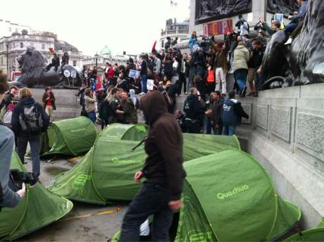 Occupy Trafalgar Square