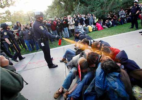 University of Davis, California - Police Pepper Spraying