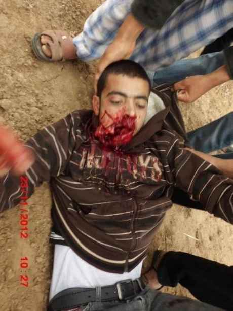20yr old Anwar Qudai shot dead in the mouth today by israeli forces.