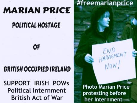 Marian Price Political Hostage
