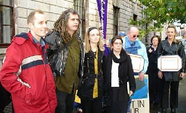 Defendants And Some Supporters