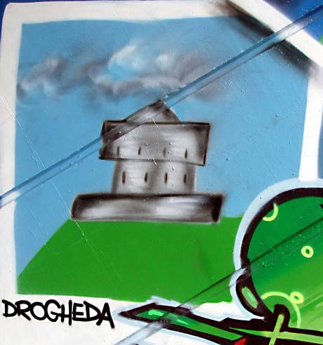 Graffiti from Drogheda, Co. Louth.