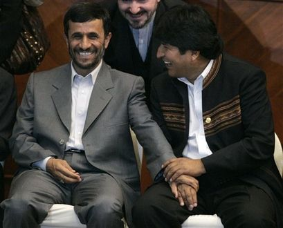 "Morales - ""Iran is doing great work fighting  American Imperialism"""