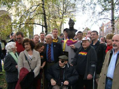 The Brigadistas with several members of the IBCC