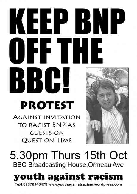 Keep BNP of the BBC