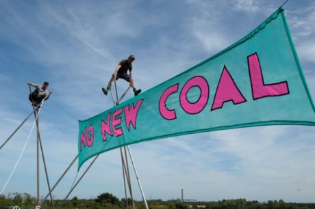 No new coal - Victory for Climate Camp: E.ON Shelves Kingsnorth