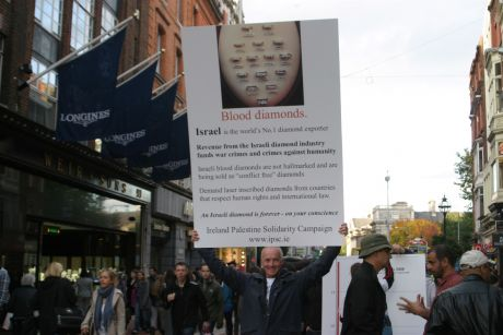 Israeli blood diamonds contaminate the diamond market