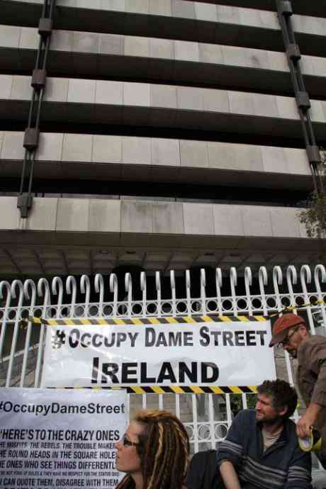 Heres to the crazy ones... Occupy Dame Street