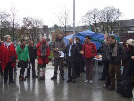 Occupy Galway: 1st Public Awareness Day