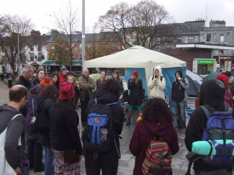#OccupyGalway: This is what democracy looks like