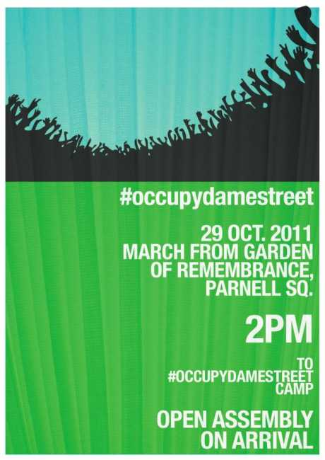 Stop The Billion Dollar Heist: #OccupyDameStreet and Real Democracy Now! March