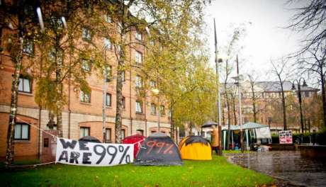 #OccupyBelfast: Tent city @ Cathedral quarter