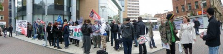 #OccupyBelfast: Anti-capitalist protestors in Belfast
