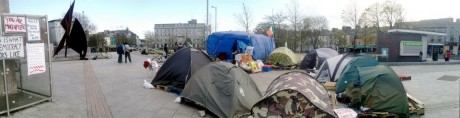 #OccupyGalway: Tent city grows in Eyre Square