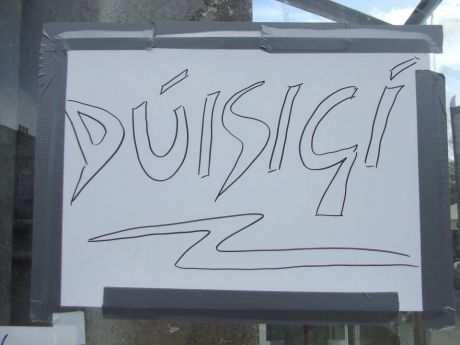 #OccupyGalway: Duisig� (WAKE UP)