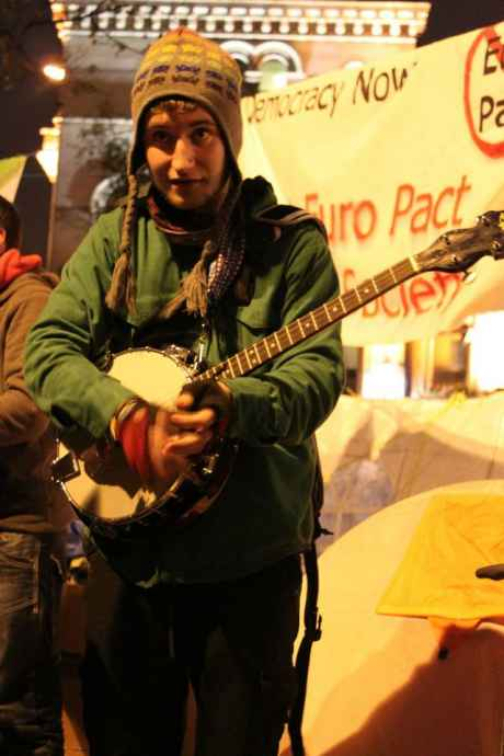 #OccupyDameStreet - We are the artists and musicians