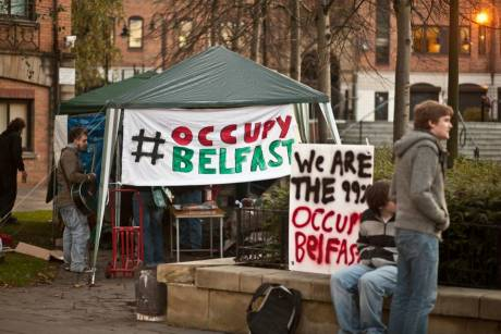 #OccupyBelfast: WE ARE THE 99%