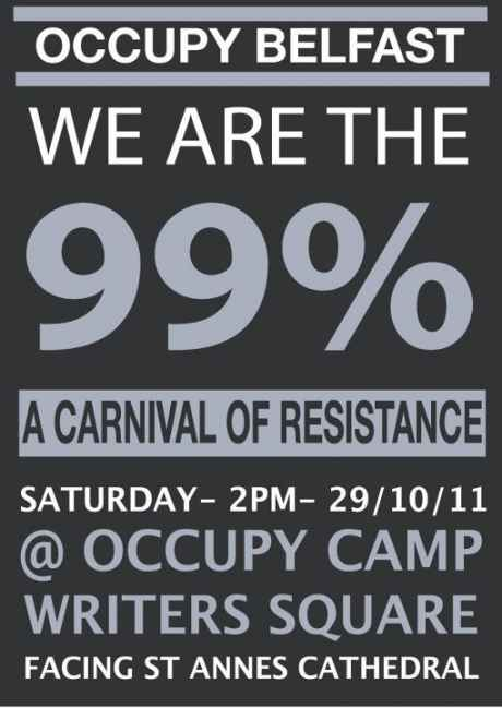 #OccupyBelfast: Carnival of Resistence
