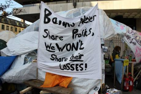 Banks never share profits, we wont share their losses!