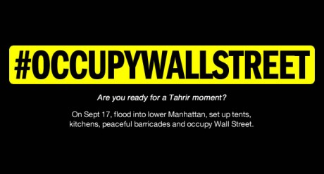 #OCCUPYWALLSTREET The American Revolution is underway