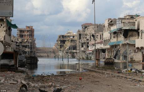 Sirte Libya - after NATO turned it into Stalingrad