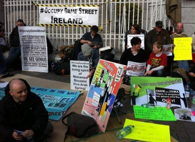 #OccupyDameStreet - Day 3