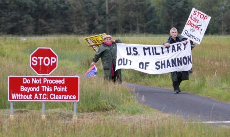 US military out of Shannon