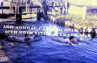 Our pic shows the CABHAIR Swim, 1979 - the 40th consecutive swim will be held at the 3rd Lock, Inchicore, Dublin, on the 25th December 2016.