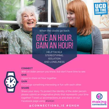 Making Connections 'Give an Hour, Gain an Hour' Campaign