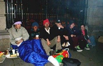 sleepout outside the Dail c/o elaine
